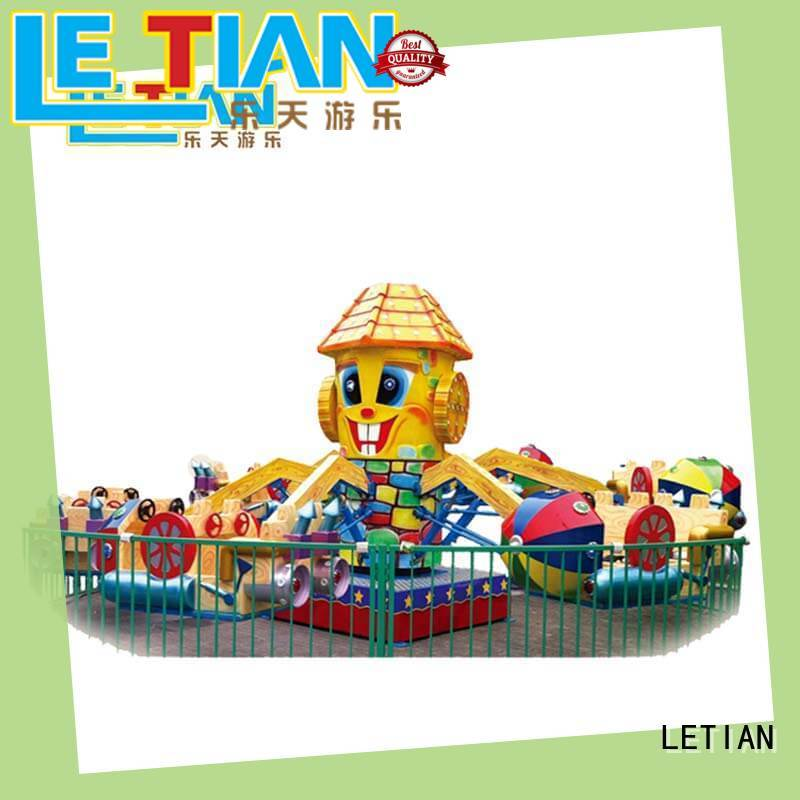 LETIAN balloon Rolling Plane Rides for child children's palace