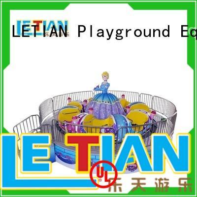 LETIAN rotating amusement park rides facility amusement park