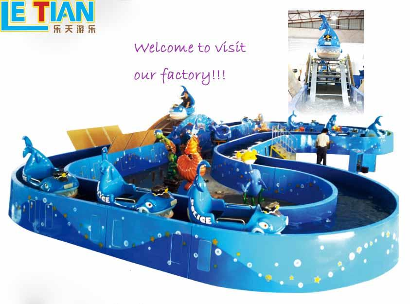 LETIAN rotating ride cup factory playground-3