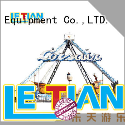 LETIAN sliding pirate ride tourists carnival
