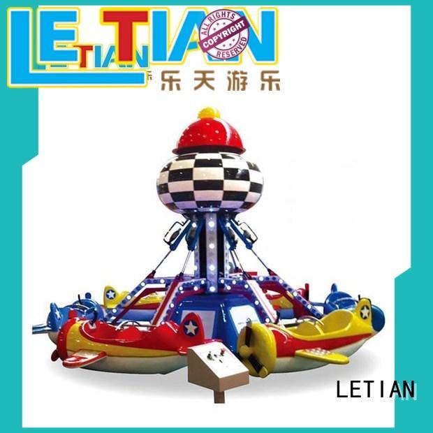 LETIAN design fair rides for kids children's palace