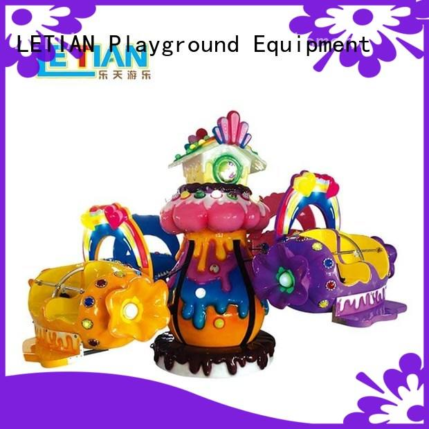 LETIAN rolling carnival rides factory children's palace