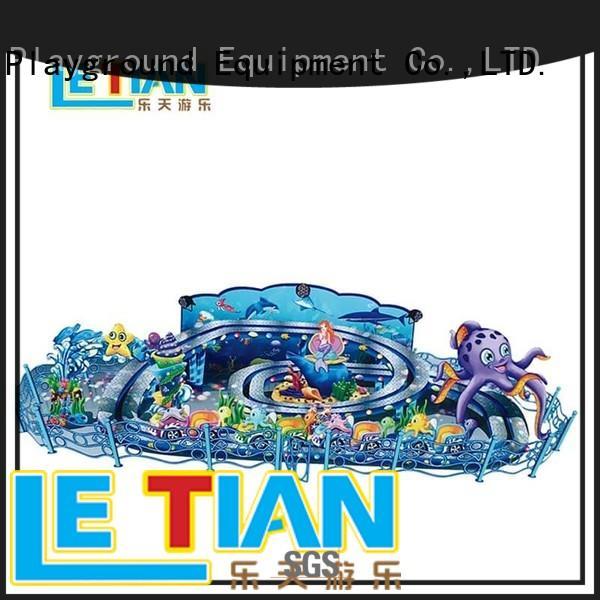 LETIAN fierce amusement park rides wholesale playground