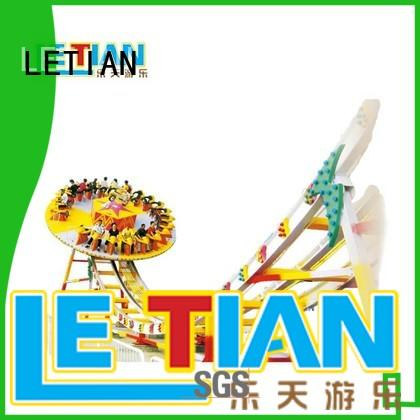 LETIAN outdoor pirate ship ride playground