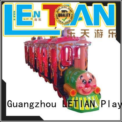 LETIAN Best amusement park train rides for business children's palace