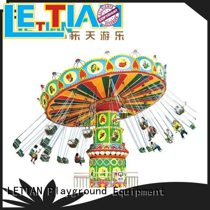 LETIAN modern carnival swing ride design zoo