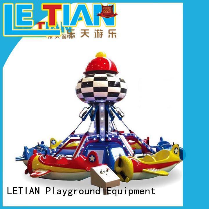 LETIAN amusing carnival rides manufacturers playground