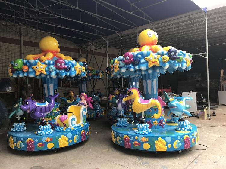 LETIAN games carousel ride supplier theme park