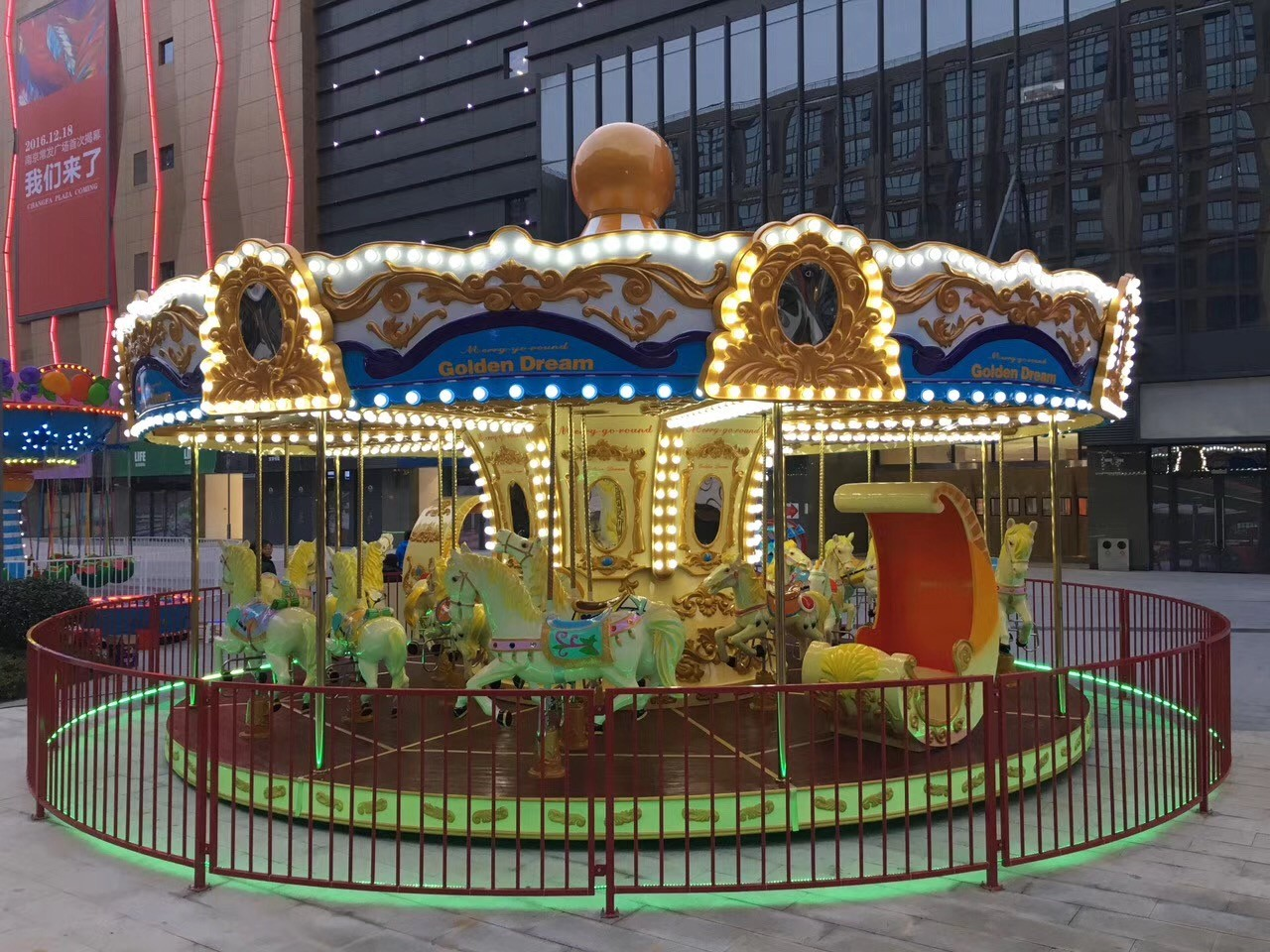 LETIAN amusement ride on carousel manufacturers carnival-3