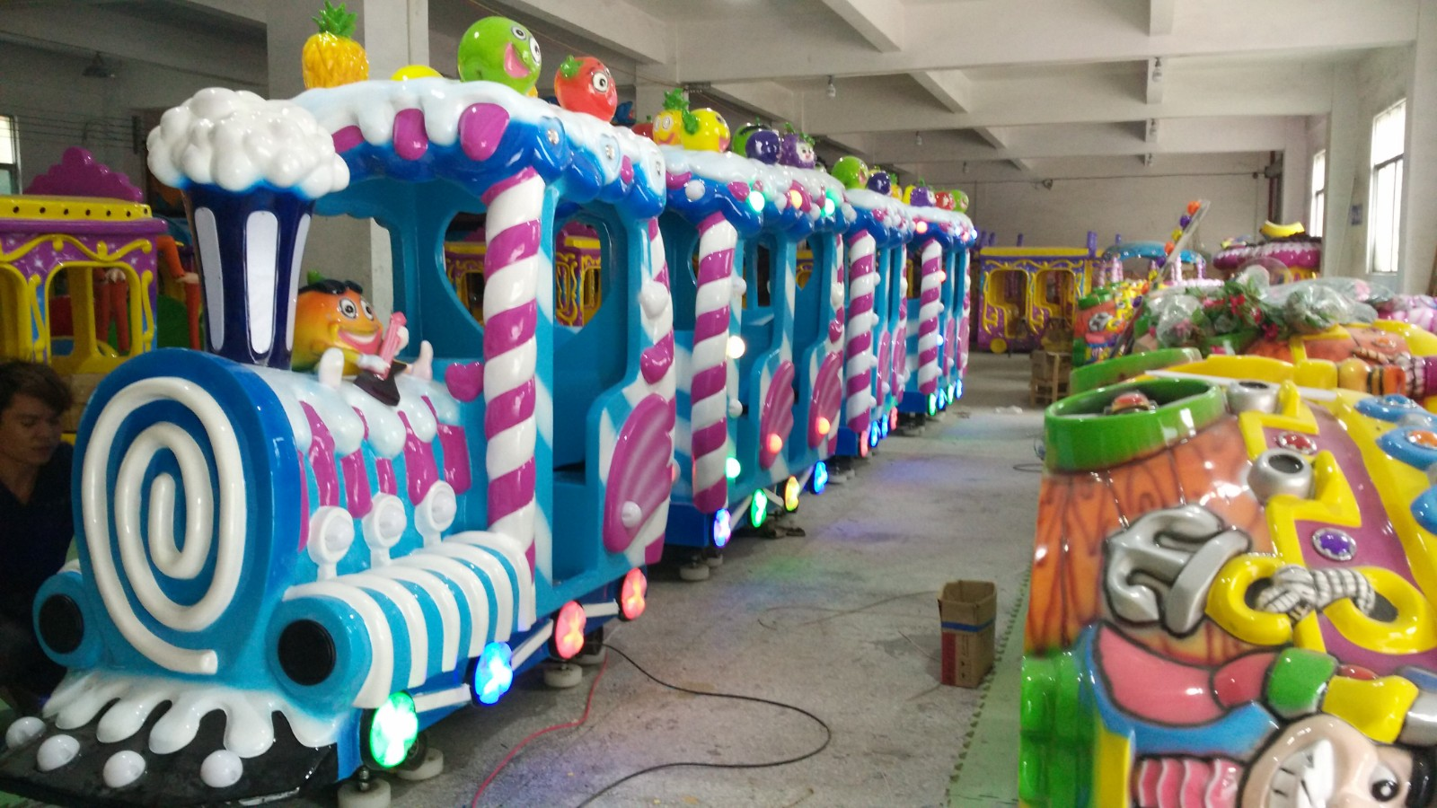 themed train rides design manufacturers mall-4