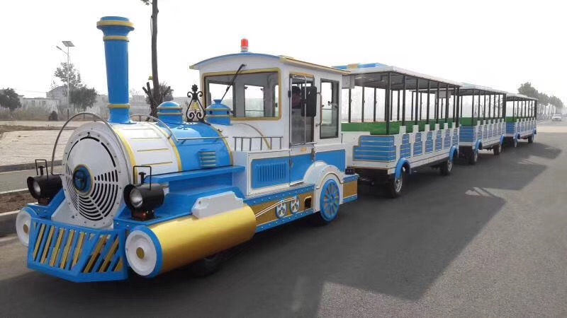 LETIAN sea amusement park train rides for business children's palace-4