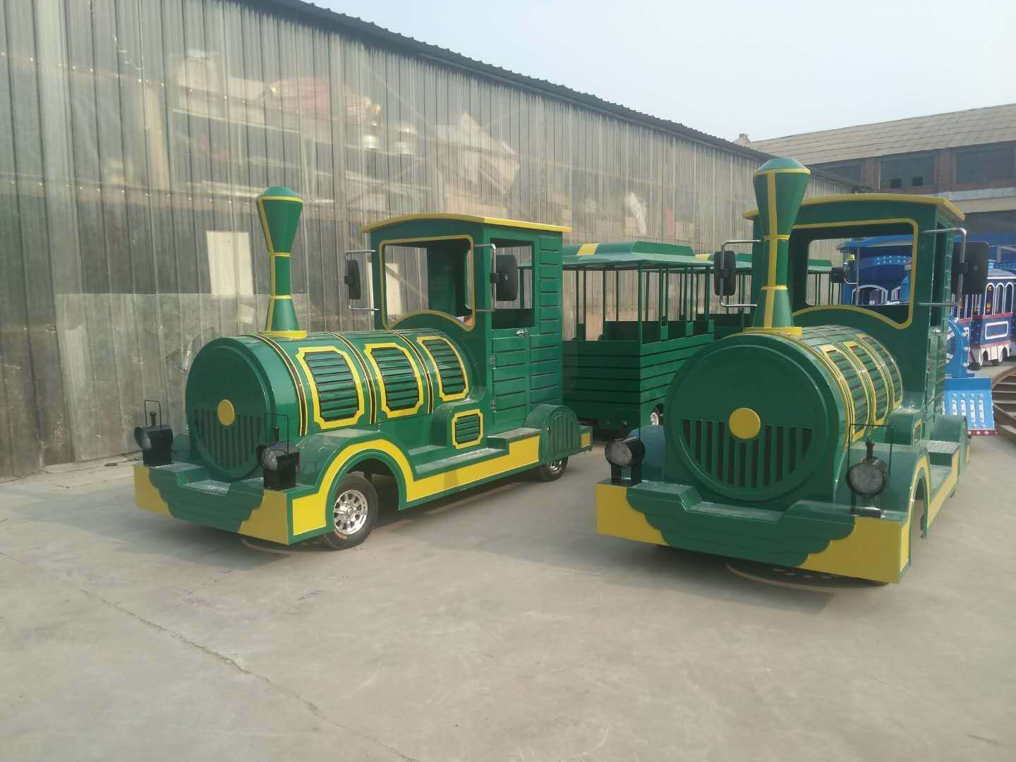 LETIAN sea amusement park train rides for business children's palace-2