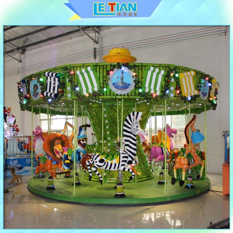 LETIAN luxury a children's carousel for kids theme park-1