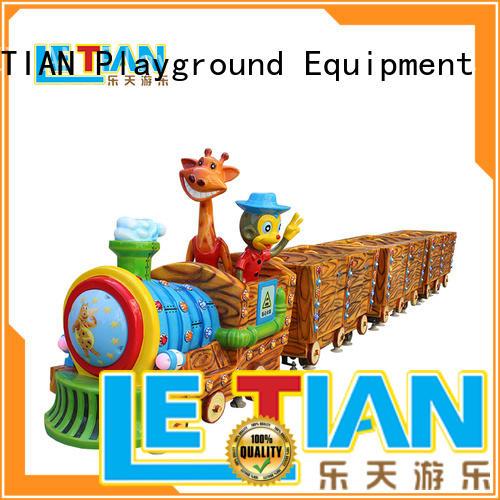 LETIAN electric amusement park train manufacturers China park playground