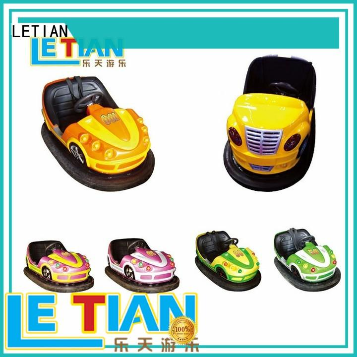 LETIAN Wholesale bumper cars ride company entertainment