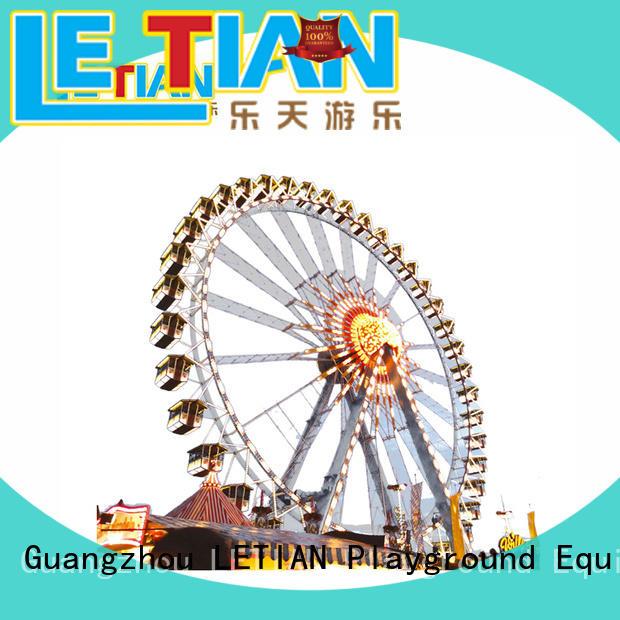 LETIAN reinforced fair ferris wheel relaxing entertainment