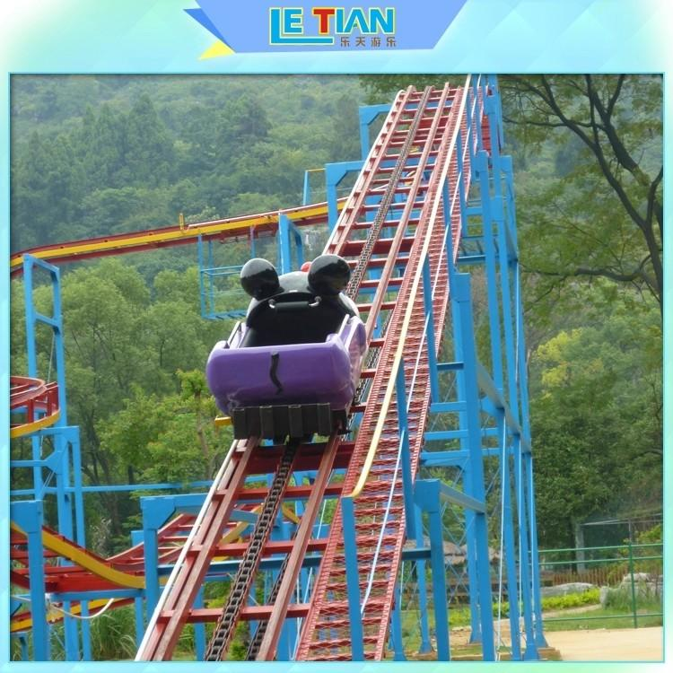 rotating scary roller coasters six attracts tourists theme park-1