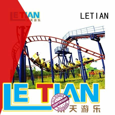 LETIAN unique roller coaster project factory playground