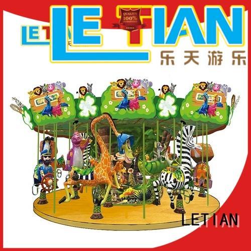 colorful carousel for children for kids carnival LETIAN