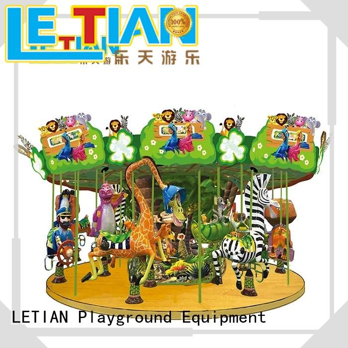 LETIAN lt7031a carousel ride customized carnival