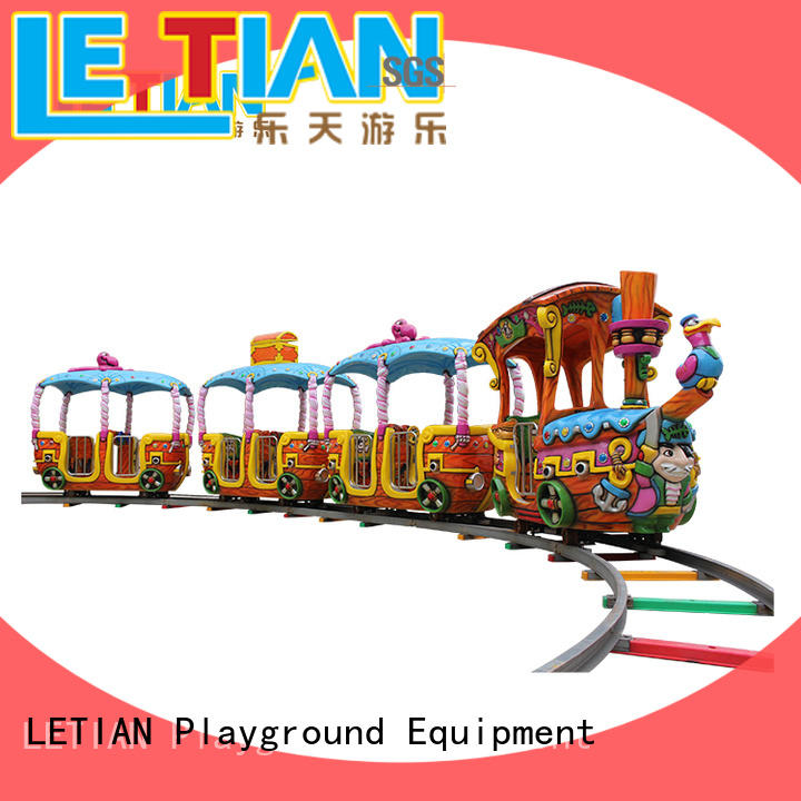 LETIAN mechanical orbit train for kids park playground