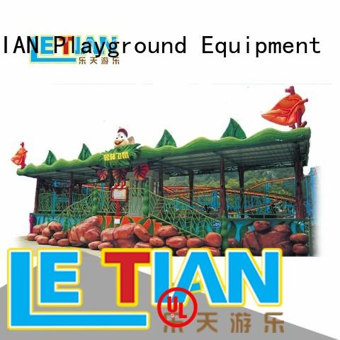 LETIAN mini roller coaster tycoon maker Supply mall