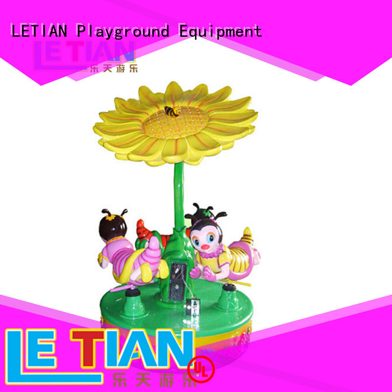 mini carousel coin customized shopping centers