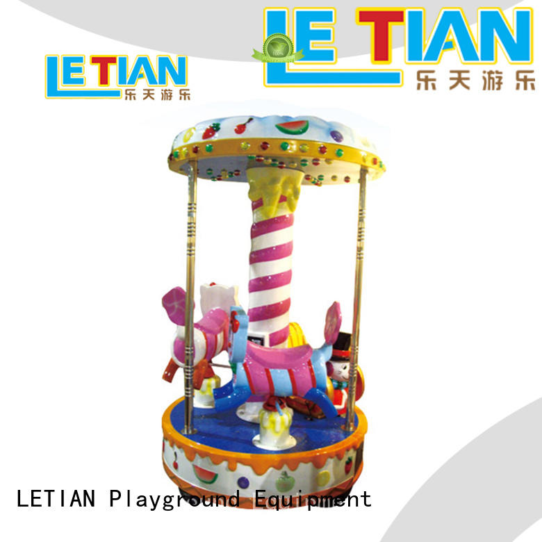 LETIAN reinforced carousel for sale design shopping centers