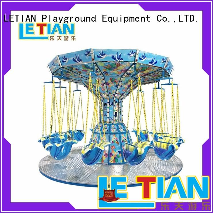 LETIAN fairground amusement park swing ride fairground