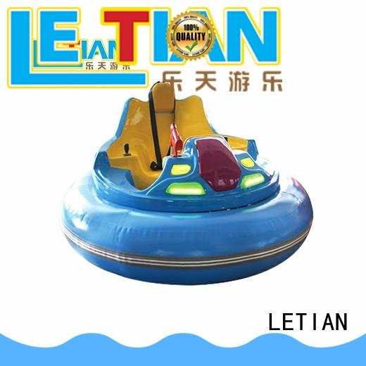 LETIAN electric electric bumper cars with antenna park