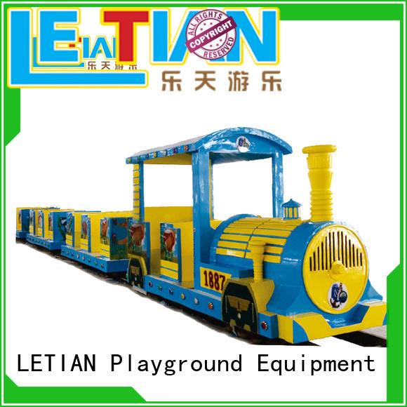 LETIAN magic orbit train park playground