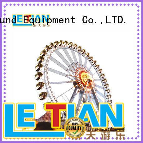 LETIAN large ferris wheel fair relaxing theme park
