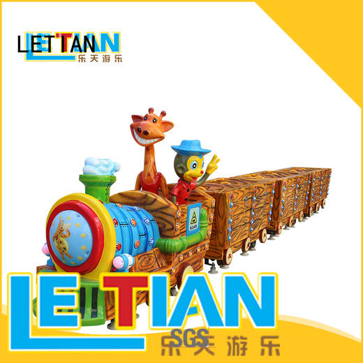 LETIAN Top carnival train ride factory children's palace