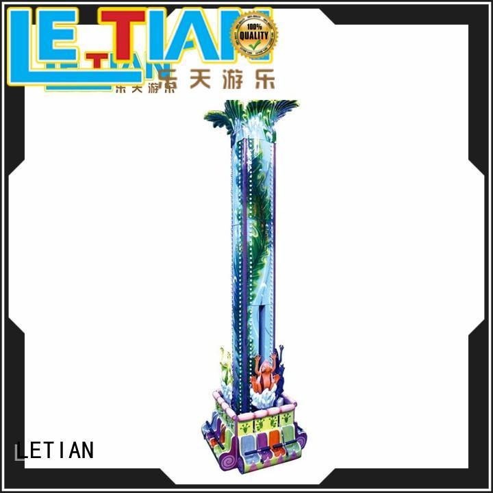 LETIAN amusing sky drop drop amusement park