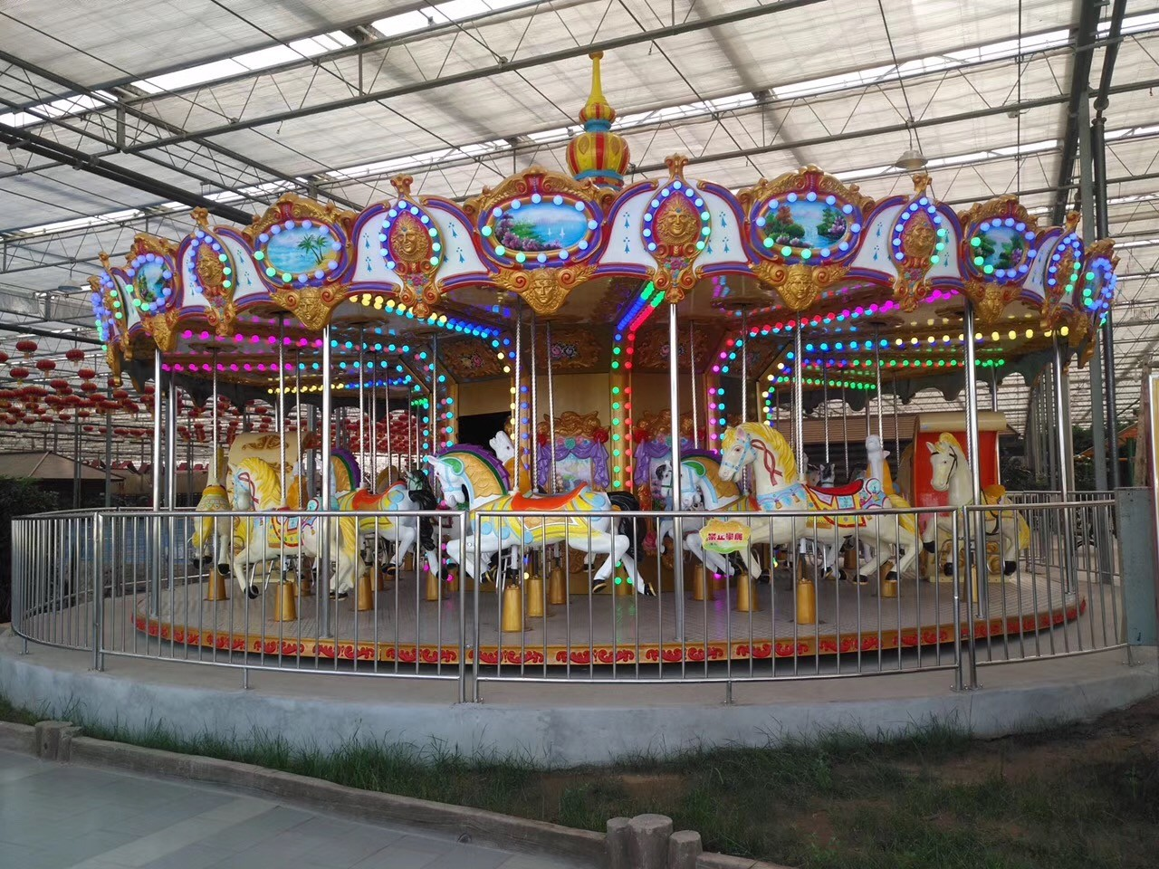 LETIAN ride amusement rides in china Supply shopping centers-3
