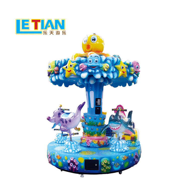 Mini 5 seats kids ocean merry go round LT-7034A