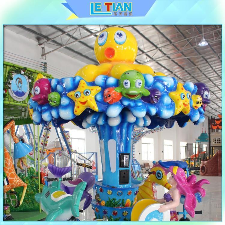 LETIAN colorful amusement park carousel lt7034a carnival
