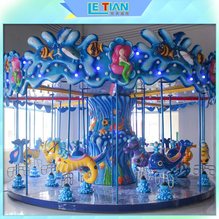 24 seats carousel ride double theme park-2