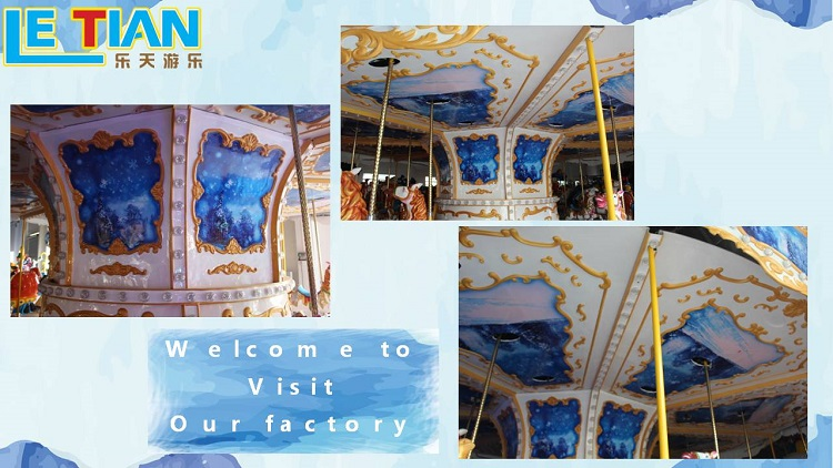 LETIAN amusement ride on carousel manufacturers carnival-2