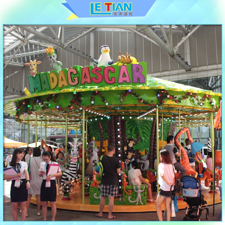 LETIAN christmas carousel for sale supplier fairground-1