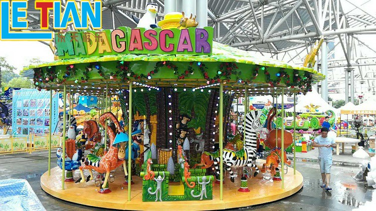 LETIAN christmas carousel for sale supplier fairground-3