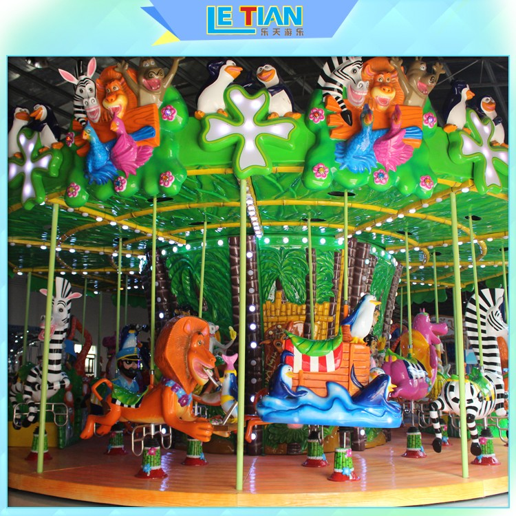 Custom carousel ride deck Supply fairground-1
