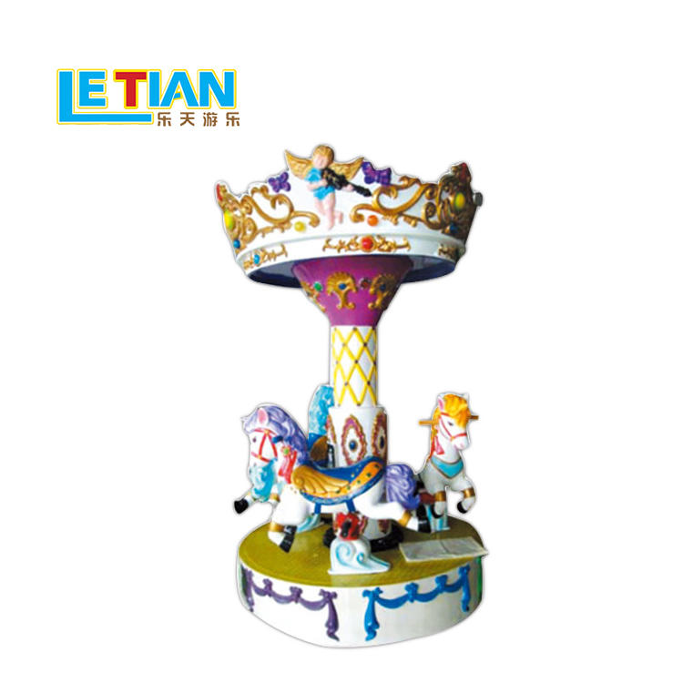 Outdoor 3 seats Mini Carousel ride LT-7038