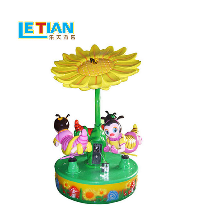 Small Carousel Horses for Shopping Centers