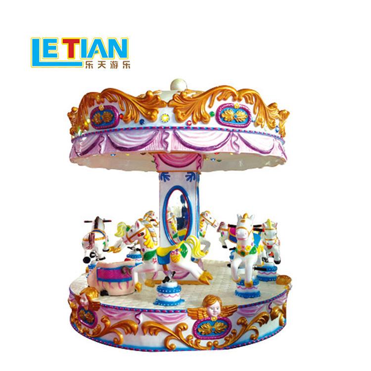 Kids 6 seats mini colorful Carousel ride LT-7039D