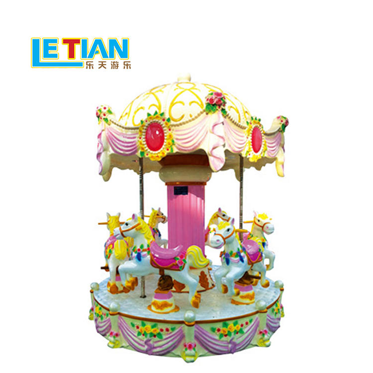 Kids 6 seats mini colorful Carousel ride LT-7039D
