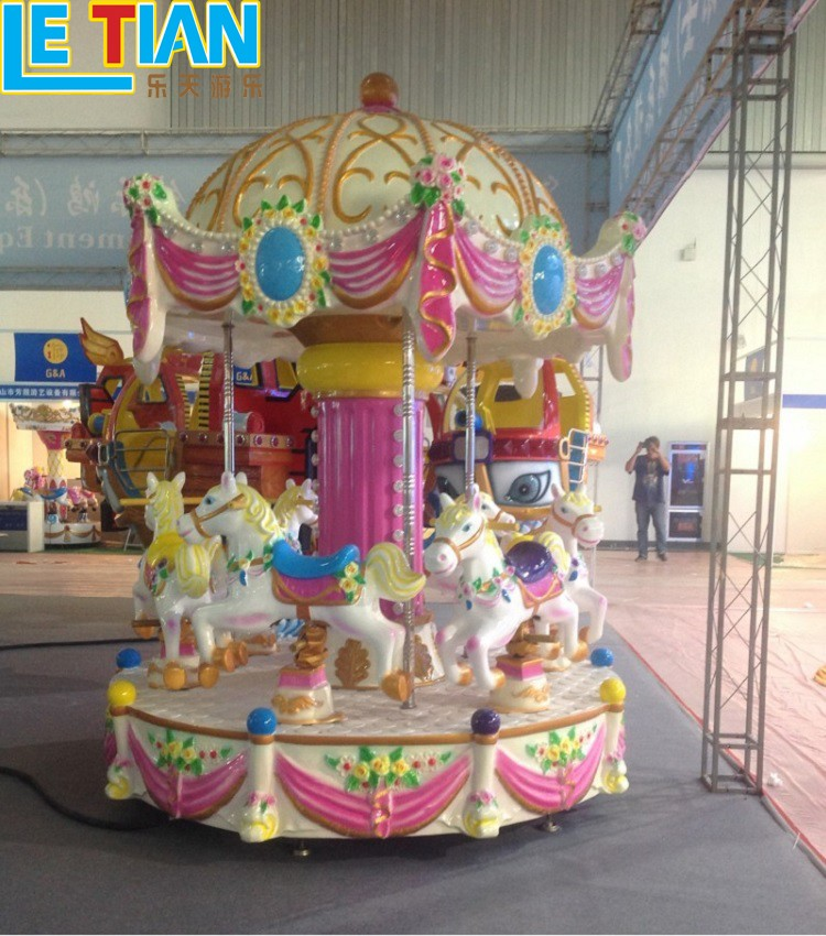 LETIAN durable ride on carousel factory fairground-1