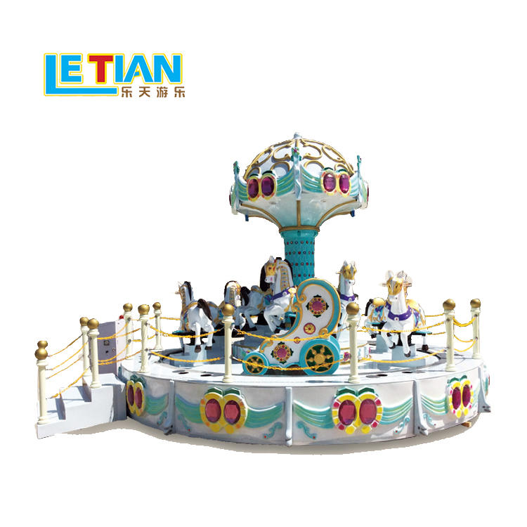 High Quality 11 seats Carousel funfair equipment LT-7040A