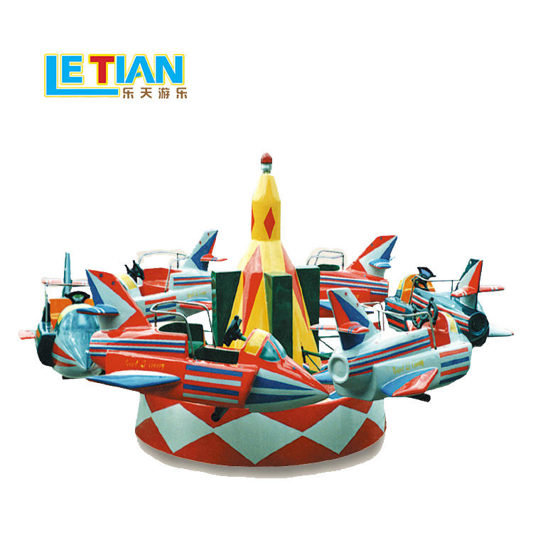 Mini 6 seats traffic style carousel ride for sale LT-7041