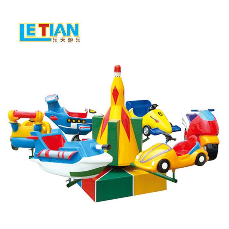Mini 6 seats traffic style carousel ride for sale LT-7041